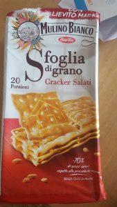 Recensione crackers sfoglia di grano Mulino Bianco