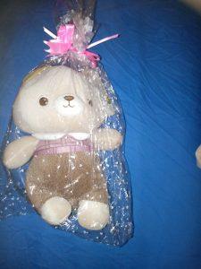 Gifts Treat Buffon Famiglia Peluche adorabile del giocattolo della peluche per i regali di Natale (Buffon-Orso-23cm)